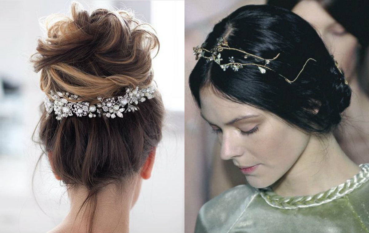 jewels wedding hairstyles 2018
