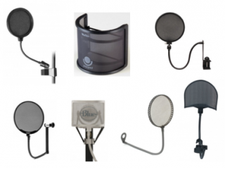 48e-pop filters for recording vocals
