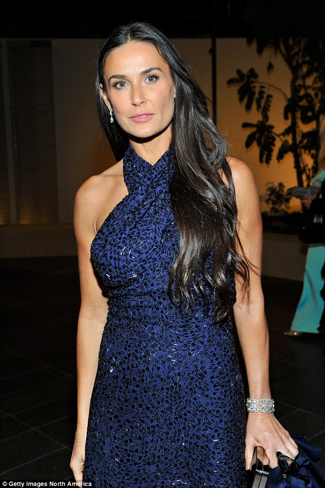 At 52, actress Demi Moore looks as youthful as ever. This is thought to be the age at which women are most likely to consider plastic surgery