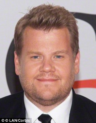 A study of students and prison inmates found that men with a higher facial width-to-height ratio were more likely to exhibit psychopathic traits (James Corden pictured)