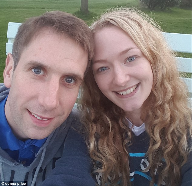 The 31-year-old, pictured with her husband, says her main beauty tip is never to sleep with makeup on and always mosisturise before bed