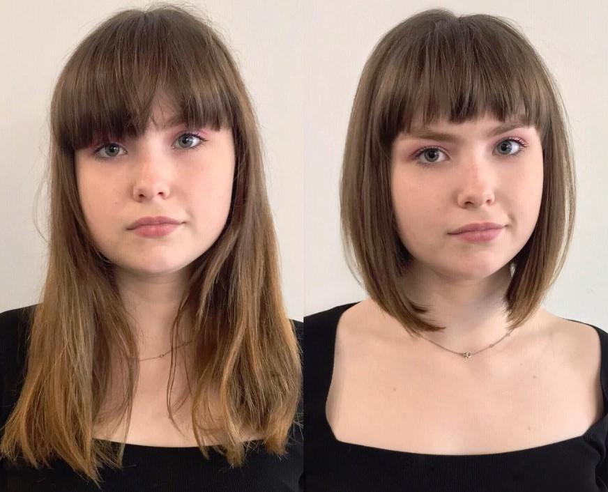 Как стрижка меняет внешность фото
