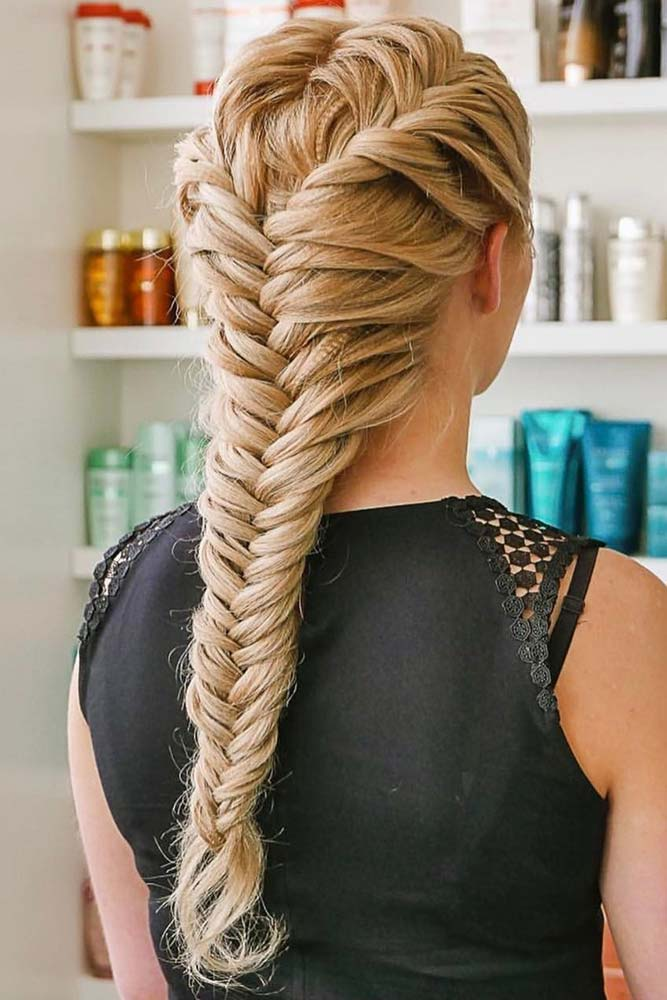 French Fishtail Braid Styles picture1