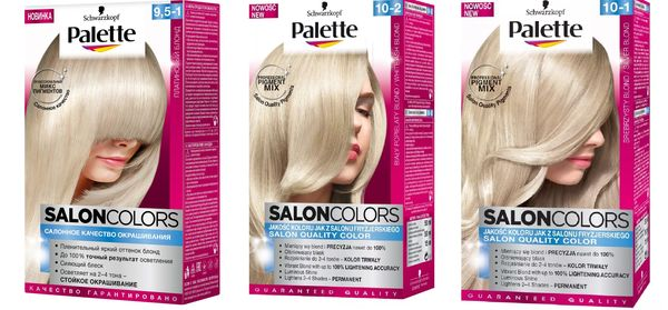 Palette Salon Colors