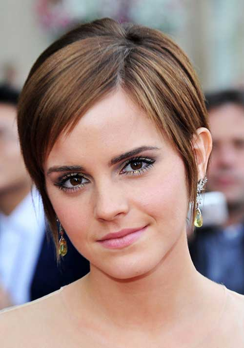 Fine Pixie Cuts for Oval Faces