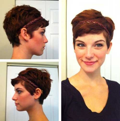 Best Pixie Haircut for Oval Face