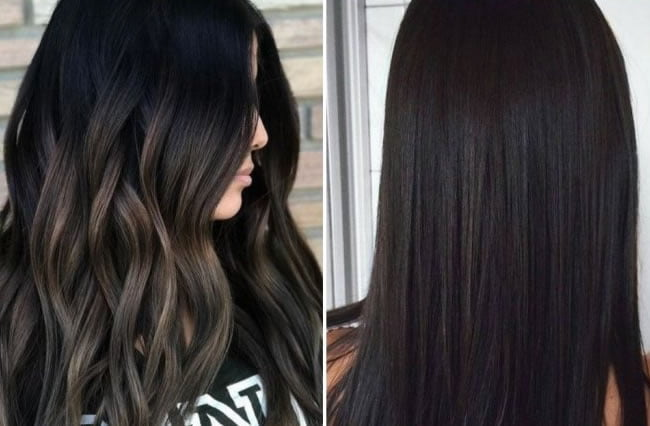 Dark hair color ideas for women 2019-2020