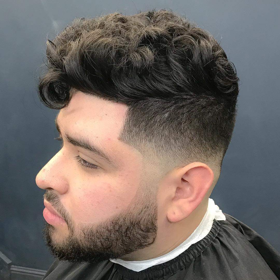 mohawk haircuts for curly hair men