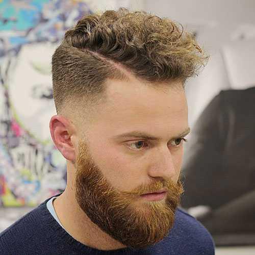 Как сделать кудрявые волосы мужчине?
